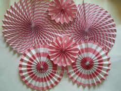 Набор бумажных вееров