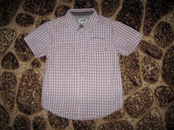 Тениска, хлопок в отличном состоянии на 4-6 лет