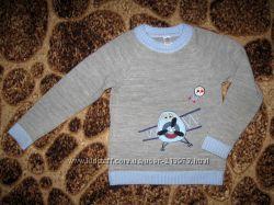 Красивый свитерок для мальчика 4-7 лет