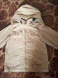 Куртка ветровка для мальчика, рост 134-140 см, на 7-9 лет