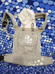 Слим сумка-кенгуру рюкзак переноска c капюшоном