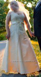 Свадебное платье р. 50-54