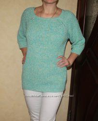 Бирюзовый свитер f&f р. 52-54