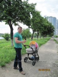 детская коляска САМ Dinamico ELITE