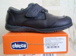 Кожаные туфли для мальчика CHICCO 28р.