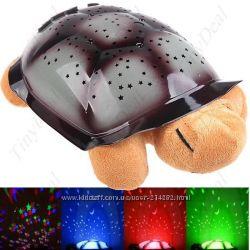 Проектор звездного неба музыкальная Черепаха