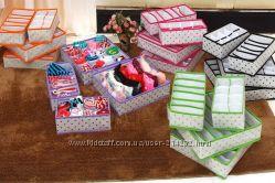 Органайзеры-коробочки для  хранения носков, нижнего белья, и т. д.