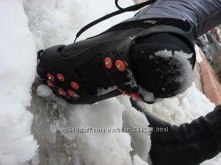 Ледоступы, ледоходы-антискользящие накладки  на обувь  от 4 до10 шипов