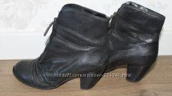Осенние ботинки Clarks, натуральная кожа, размер 38.
