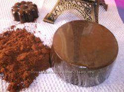 Мыло-скраб Горький шоколад ручная работа