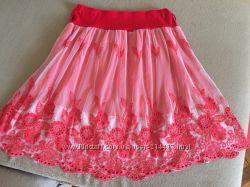 Кружевная юбка, фатиновая юбка