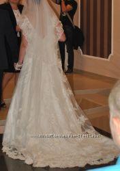 Шикарное свадебное платье подарок свадебные аксисуары