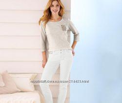 Белые джинсы  TCM Tchibo, р. 36