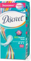 Очень дешево Ежедневные прокладки Discreet Deo