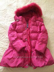 Пуховое пальто OHARA, в отлич. сост. , тёплое, легкое, на рост 125134