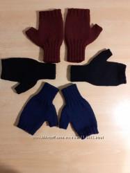 Митенки - перчатки мужские безс пальцем