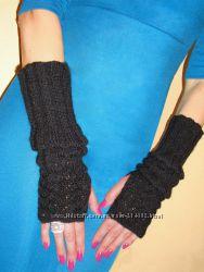 Митенки - перчатки Карандаш