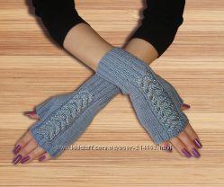 Митенки - перчатки короткие и стильные