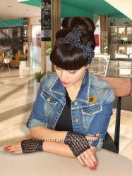 Митенки  перчатки и повязка на голову  Trendy, brandy & stylish