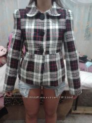 Теплая курточка, пальтовая ткань, р-р 46