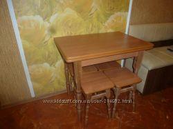 Столы  с табуретками  от производителя