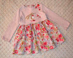 коллекционное платье с кроликом I Love Next  колготки