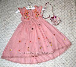 распродажа суперское платье I Love Next с вышивкой