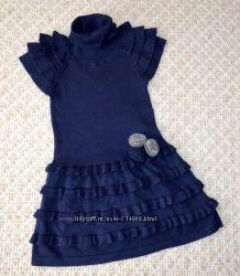 фирменные теплые платья-туники