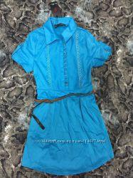 Платье-туника на пуговках. 42 размер, новое