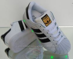 adidas superstar Led USB 28-35 размер