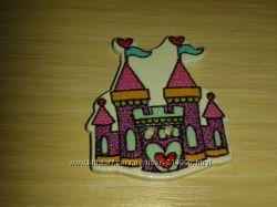 Замок деревянная пуговица