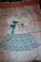 Летние трикотажные платья Cool Club, размер 110, 116, новые.