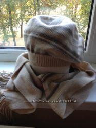 Шапка и шарф для девушки, женщины