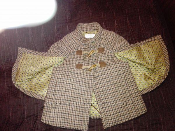 Оригинальное пальто-кейп Испания