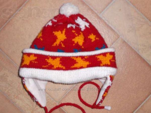 шапка теплая зимняя