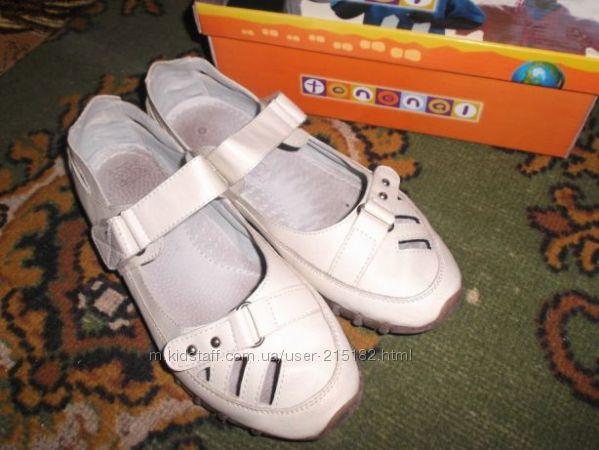 Туфли натуральная кожа р. 35
