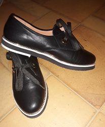 Туфли натуральная кожа р. 37