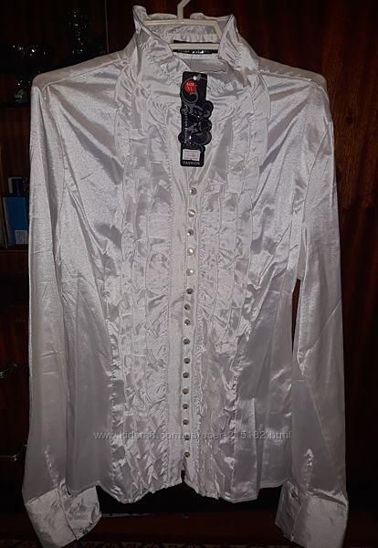 Блузка белая нарядная