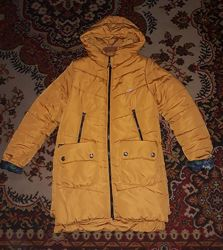 Пальто зимнее на 9-12 лет
