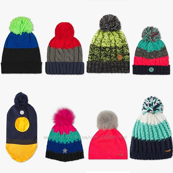 Шапочки-шлем для модняшек от ТМ  H&M Topolino