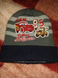шапка для мальчика с героями тачки DISNEY