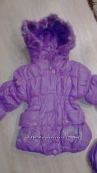 Зимняя куртка с рюкзаком