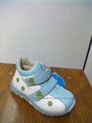 Ботинки на девочку кожаные
