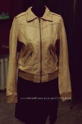Фирменная кожаная куртка Jennyfer, Распродажа