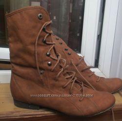 Теплые ботинки Германия,  очень хорош. Состояние