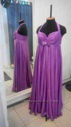Дизайнерское вечернее платье батал