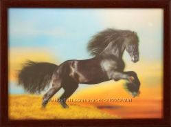 Подарок близким и друзьям -3д картина  , стереокартина. хорошая цена