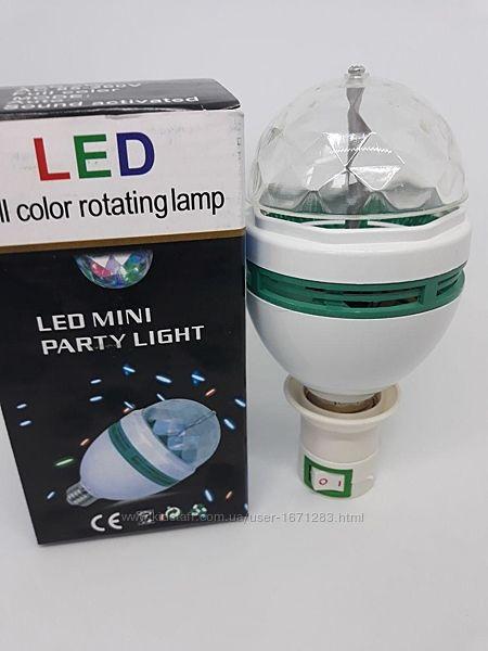 Вращающаяся диско-лампа LY-399 LED FULL COLOR
