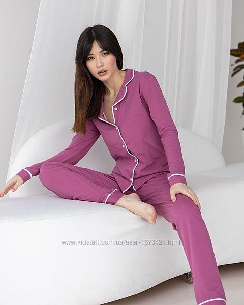 Пижамы женские хлопок