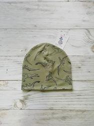 Трикотажная  весеняя шапка